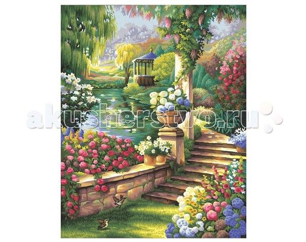 Картина по номерам райский сад 40х50 см, Schipper