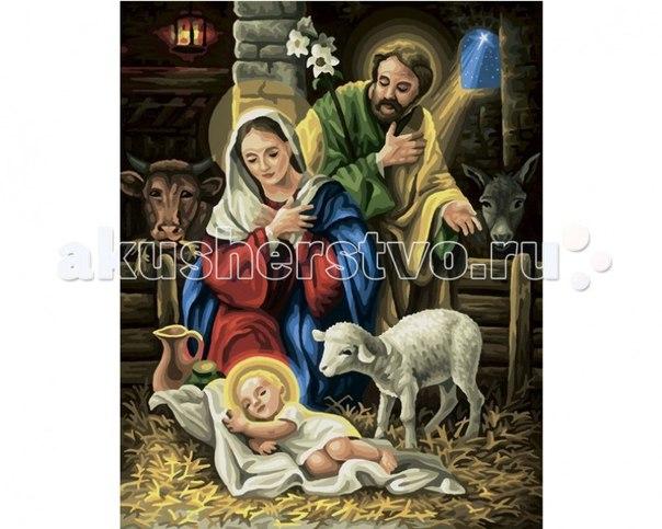 Картина по номерам рождение христа 40х50 см, Schipper