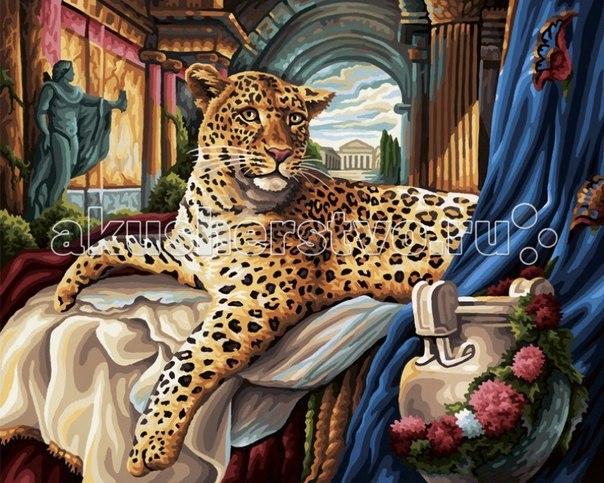 Картина по номерам римский леопард 40х50 см, Schipper