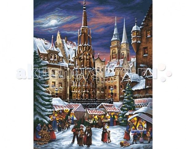 Картина по номерам рождественские гуляния 40х50 см, Schipper