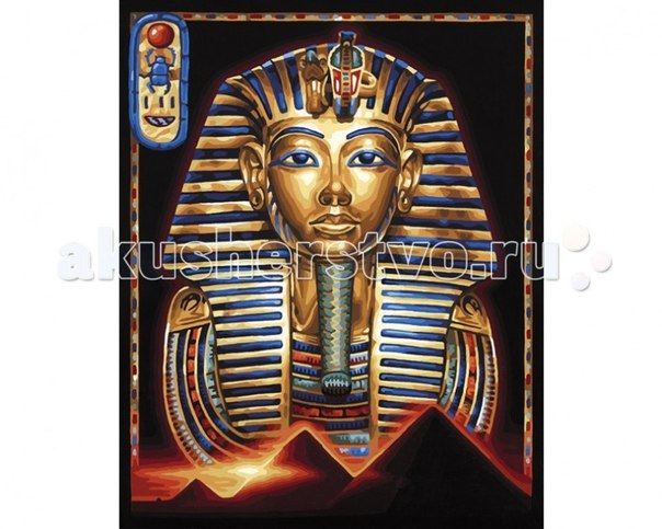 Картина по номерам маска тутанхамона 40х50 см, Schipper