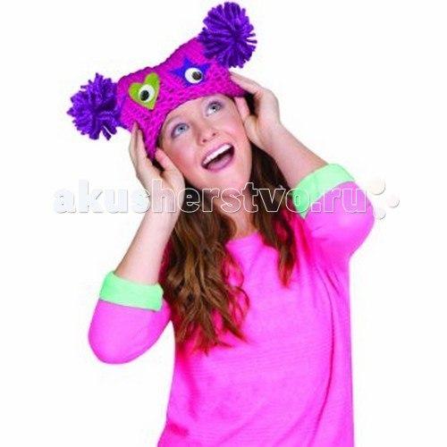 Набор для вязания шапочки в виде монстрика, Fashion Angels