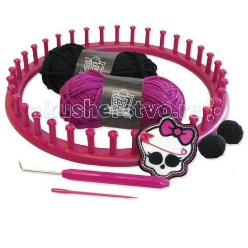 Набор для вязания шапочки школа монстров, Fashion Angels