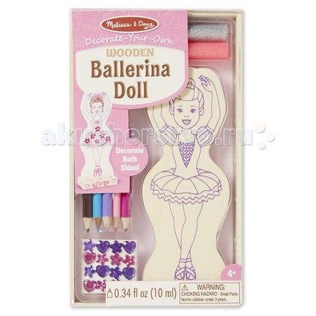 Деревянная игрушка Классические игрушки Балерина, Melissa & Doug