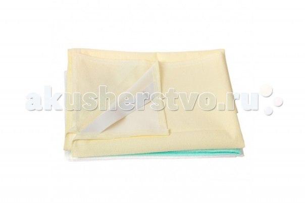 Защитный чехол для матраса непромокаемый на резинках 120х60 см, Sheldon