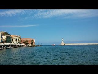 Венецианская гавань в городе Ханья, о. Крит, Греция