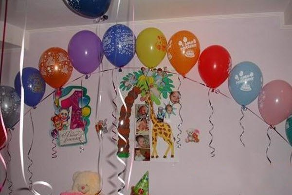 Украсить комнату на день рождения своими руками для мамы