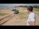 Range Rover Sport SVR и Land Cruiser 100 в песке.