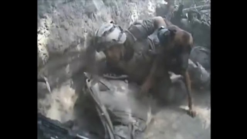 French Foreign Legion Under Intense Taliban DshK Fire During Heavy Firefight In Afghanistan