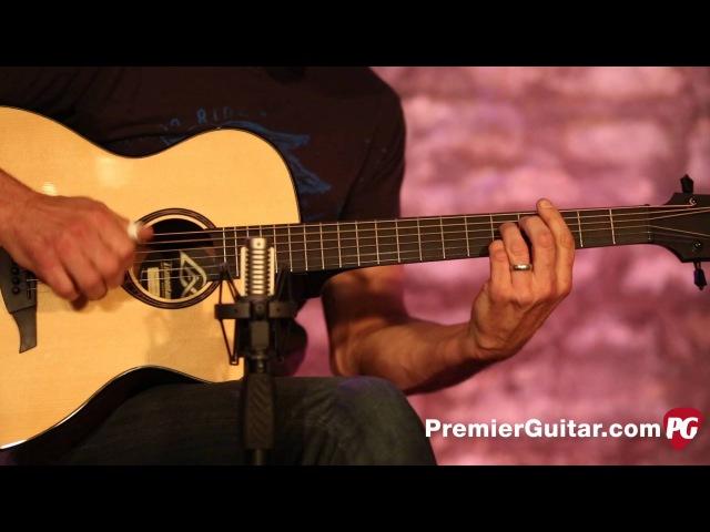 Review Demo - Lag Guitars Tramontane TSE701ACE