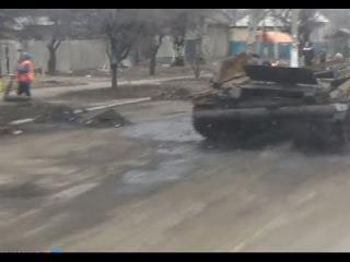 Новости от Ватника: Дебальцево после боев.