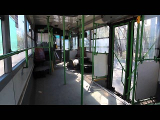 Поездка на автобусе Икарус-415 № 10205 по 171 маршруту