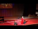 Юлия Славянская / Концерт в Нац. Филармонии / Киргизия / Бишкек