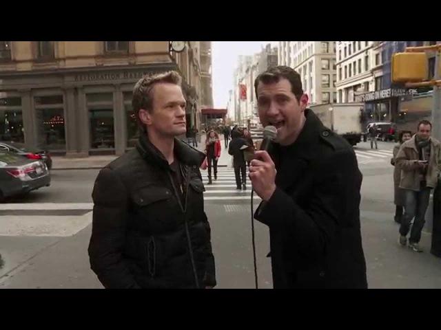 Neil Patrick Harris and Billy Eichner Ambush New Yorkers
