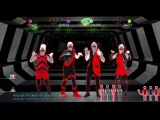 Just Dance 2014 Wii U Gameplay - Will.i.am ft. Justin Bieber That Power
