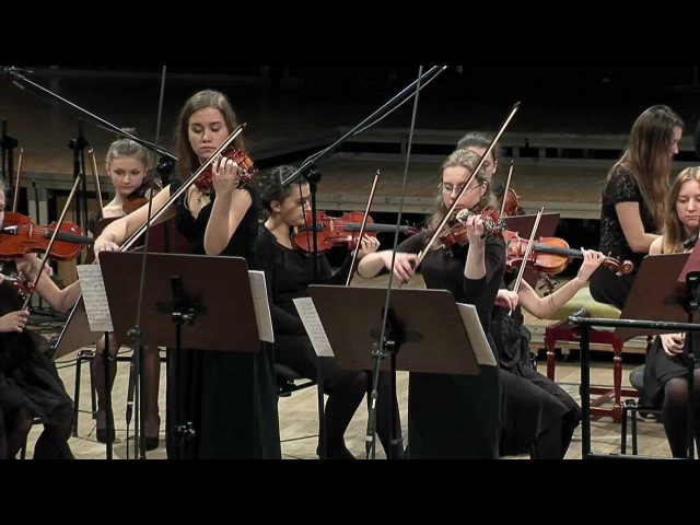J. S. Bach - Double Violin Concerto in D minor BWV 1043 Krakowska Młoda Filharmonia
