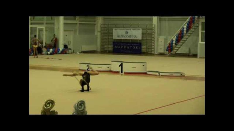 Яна Кудрявцева Москва обруч