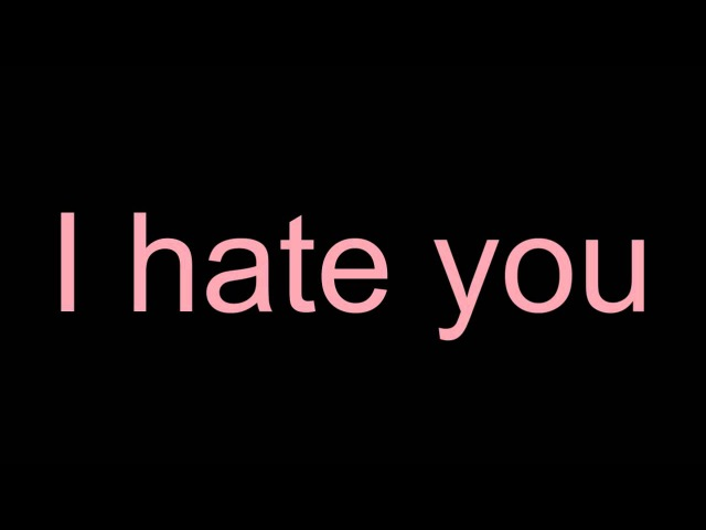 Simon Curtis - I Hate U ♫ ♪
