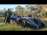 Real Life Batmobile Man Spends Two Years Building Iconic 1989 Car
