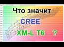 Что значит CREE XM-L T6, XM-L2 U2 или XP-E Q5 маркировка светодиодов