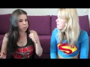 STUFF YOUR MOUTH CHALLENGE - Spidergirl VS Supergirl