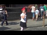 Пионерские песни на красной площади!!