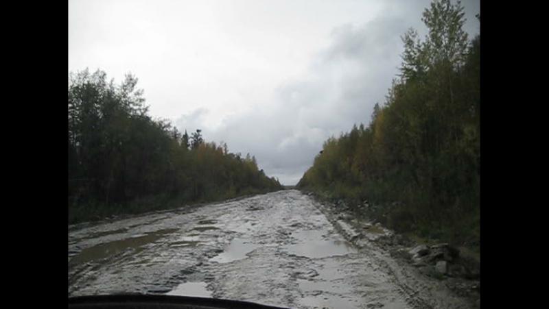 Дорога Епишино-Северо-Енисейск на SUBARU FORESTER