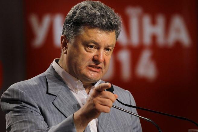 Петр Порошенко объявил о вводе российских войск на Украину