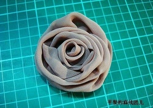 Розы из шифона своими руками мастер класс 58