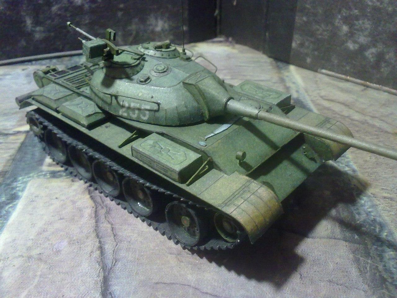 Как сделать танк из танков онлайн из картона