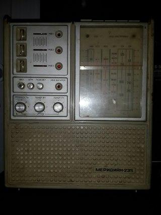 Радиоприёмник ''Меридиан-235''