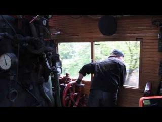 Небольшая поездочка на паровозе Су251-86
