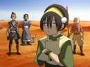 Toph is blind