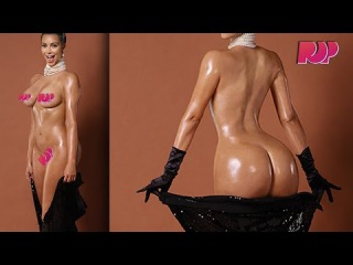 Kim Kardashian Full Frontal Nude Pictures And The Story Behind It