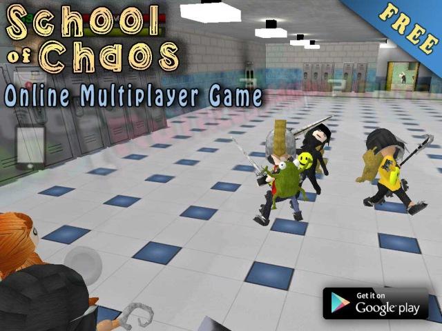 [Обновление] School Of Chaos - Геймплей   Трейлер