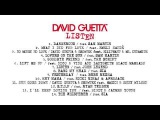 David Guetta - Listen (new album) medley