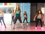 Five more hours - Deorro &amp Chris Brown - EASY kids dance fitness choreography