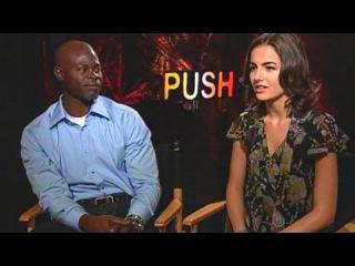 'Push' Djimon Hounsou & Camilla Belle Interview