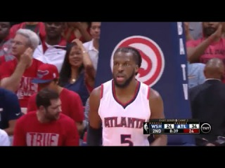 [HD] Washington Wizard vs Atlanta Hawks | Full Game Highlights | Game 2 | May 5, 2015 | NBA