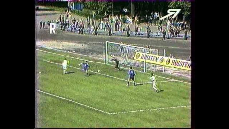 оойй, какое видео! первый еврокубковый матч в истории нашей команды. июнь 1998. Столько лет прошло, каждый момент помню до сих п