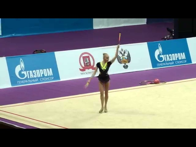 Яна Кудрявцева, булавы, Художественная гимнастика