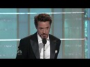 Robert Downey Jr Golden Globe Awards best actor