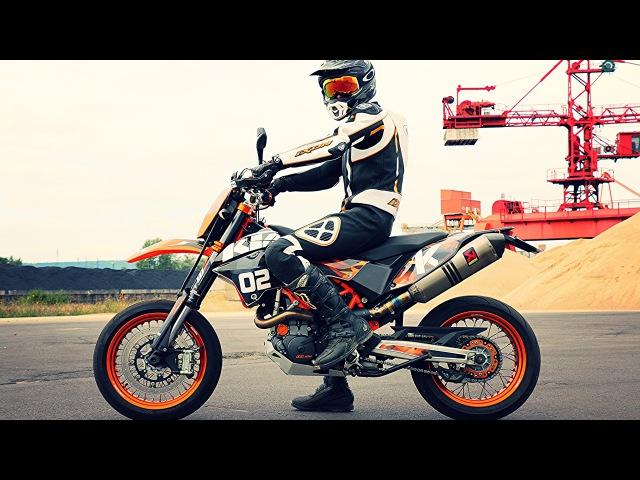 J'ai une Nouvelle Moto ! KTM 690 SMC R