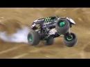 Monster Jam San Diego 1-18-14 Monster Energy WINNING Freestyle