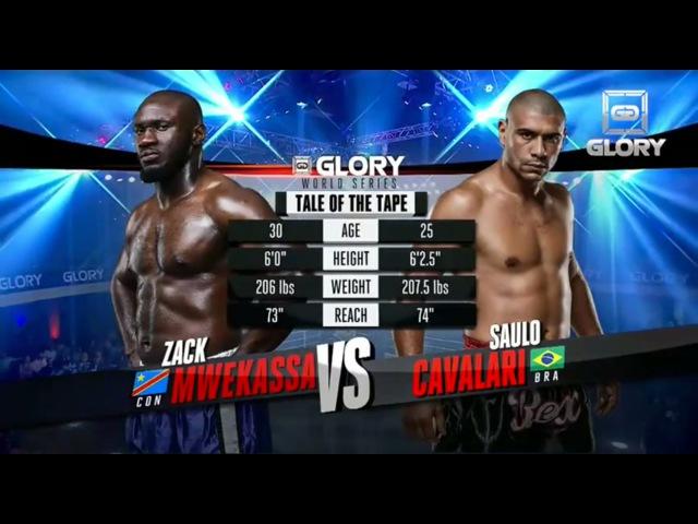 GLORY 18 - Saulo Cavalari vs. Zack Mwekassa (Full Video)
