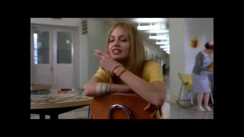 Girl Interrupted 1999 Lisa Smoke scene Angelina Jolie