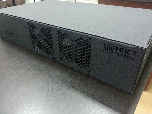 Омская компания «Промобит» представила российский сервер Elbrus 4416 2U.