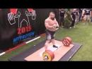 Едди Хол ставит рекорд в становой 463 kg