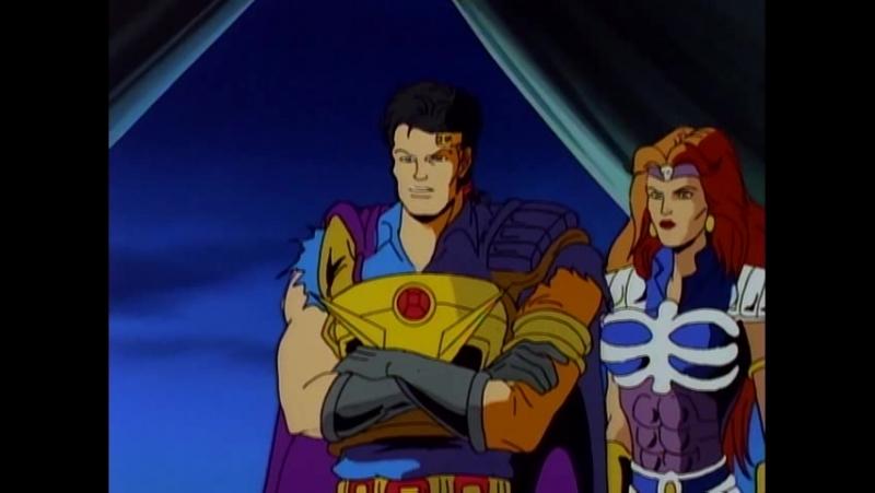 Воины-Скелеты 11 серия из 13 / Skeleton Warriors Episode 11 (1993 - 1994) Да здравствует король!
