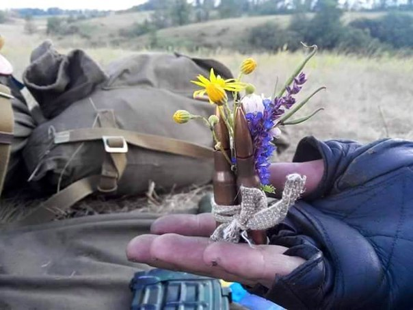 """""""Участники АТО успешно передают свой боевой опыт"""", - украинские десантники из шестой волны мобилизации проводят учения со стрельбами - Цензор.НЕТ 9669"""